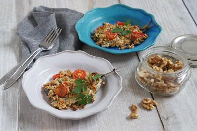くるみ入り「地中海式和食」で健康長寿!