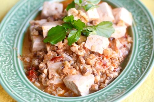 野菜料理家 庄司いずみさんの冷製でも美味しい!くるミートで作る麻婆豆腐